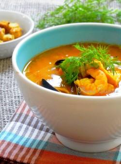 soupe poisson suede