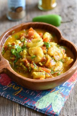 Crevettes-épicées-Chingri-Maach