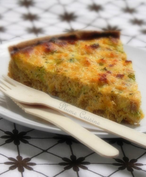 tarte saumon