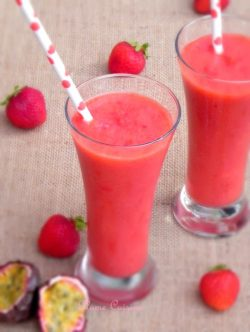 Smoothie-fraises-passion