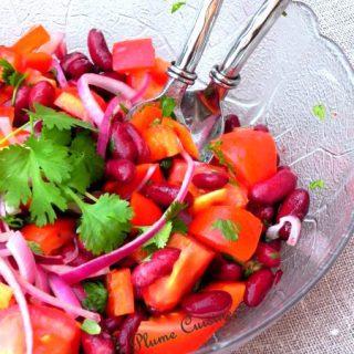 salade-de-haricots-rouges