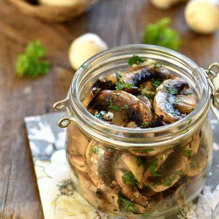 Recette-champignons-marinés