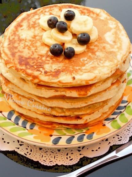 Pancakes-bananes