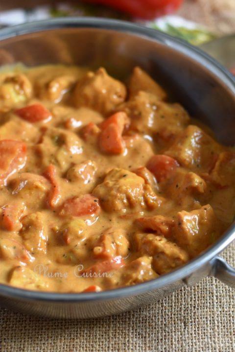 Poulet-curry-ketchup-au-four