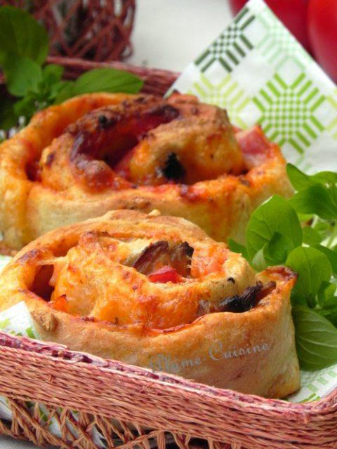 Pizza-roulé