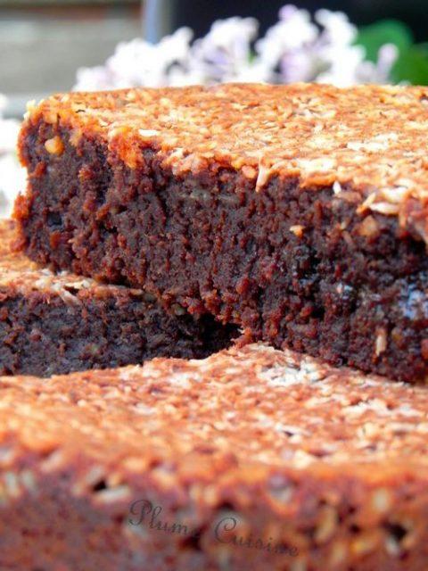 Gâteau-fondant-chocolat-banane