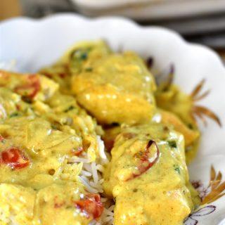 Poisson-curry-au-four-recette